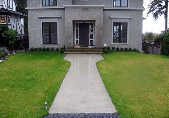 Diamond Cut Smooth Finish Concrete